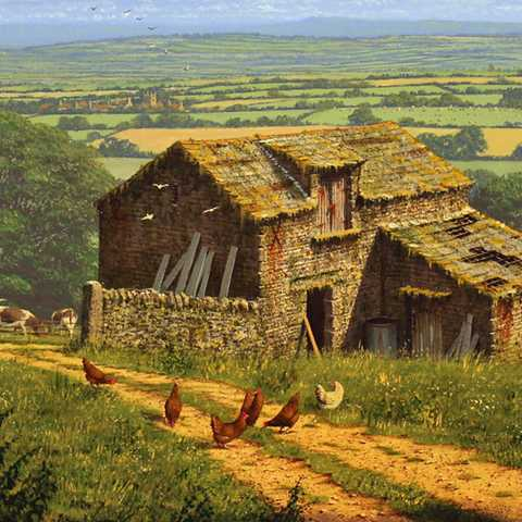 Edward Hersey, 'Summer in the Yorkshire Dales'