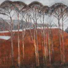 Landscape by Water (The Red Hill) - Jake Attree