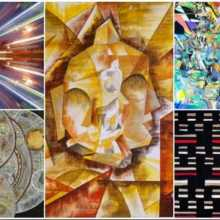 Geometric Abstraction Group Art Exhibition
