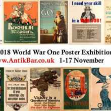 AntikBar.co.uk WWI Poster Exhibition