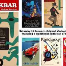 AntikBar Original Vintage Poster Auction 14 January
