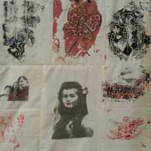 Quilt by Nicky Dillerstone after Louise Bourgeois