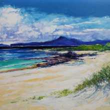 St Columba's Beach of the Seat Iona