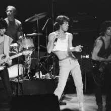 The Rolling Stones in Concert, Aberdeen, Scotland, 1982