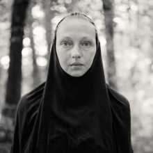 Alys Tomlinson - black and white photography - portrait - nun