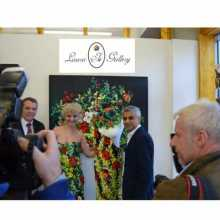Sadiq Khan and Crll. Darren Rodwell inaugurating the gallery